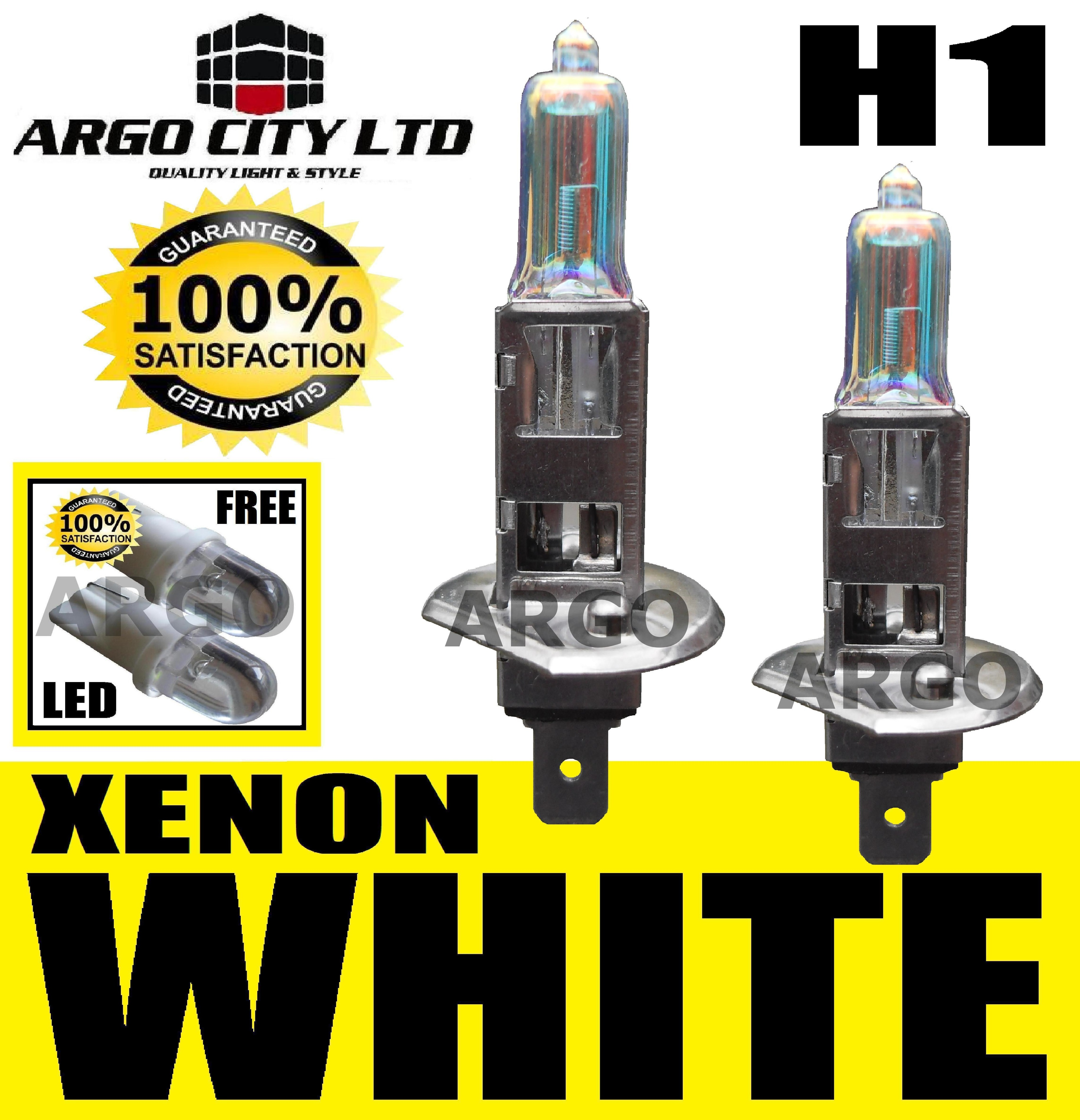 H1 100W XENON SUPER WHITE 448 FOG SPOT LIGHT LAMP BULBS HID CADILLAC ESCALADE